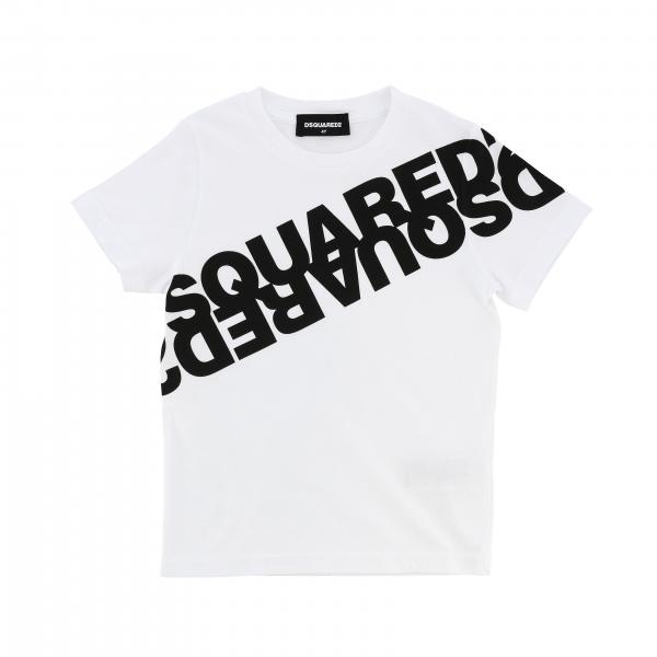 Dsquared2 Junior short-sleeved T-shirt with logo
