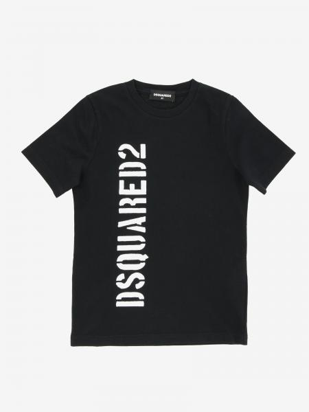 T-shirt Dsquared2 Junior con stampa logo