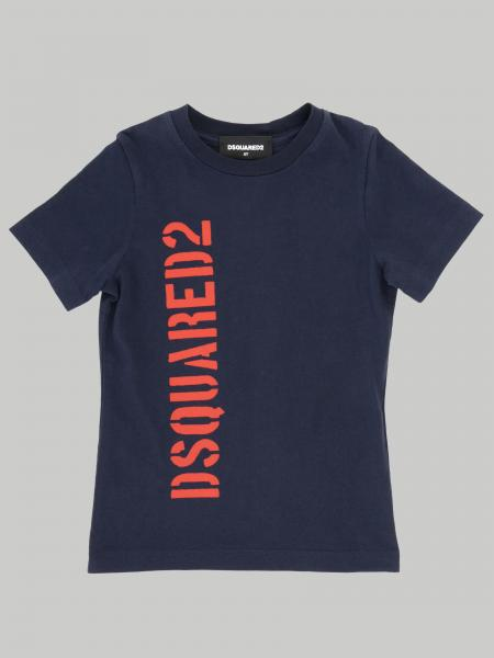 T-shirt Dsquared2 Junior avec logo imprimé