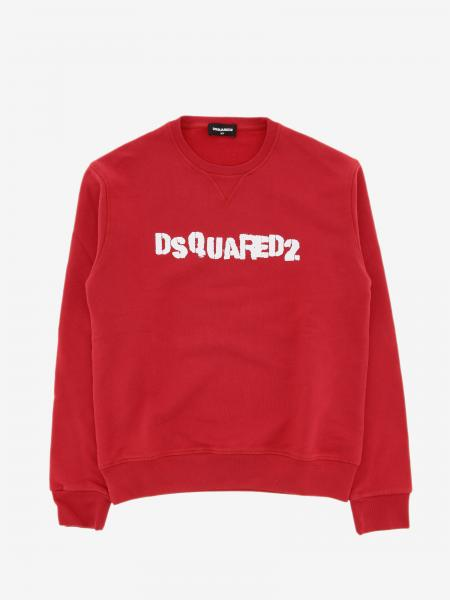 Felpa Dsquared2 Junior a girocollo