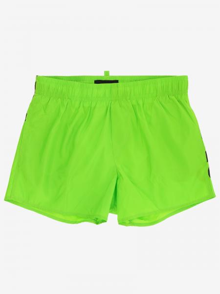 Short de bain Dsquared2 Junior avec logo
