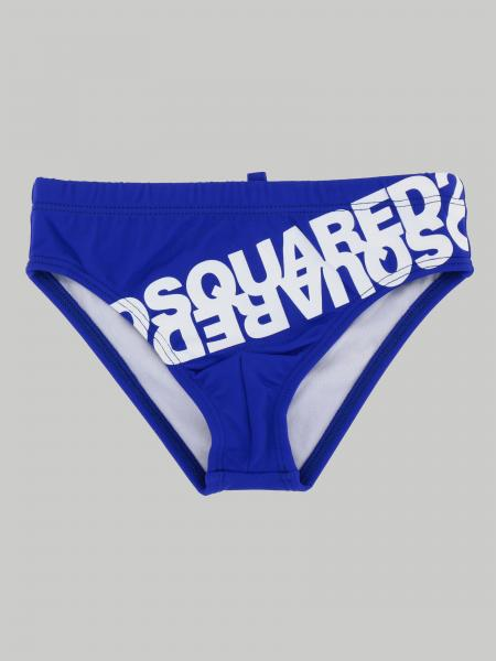 Costume Dsquared2 Junior a slip con logo