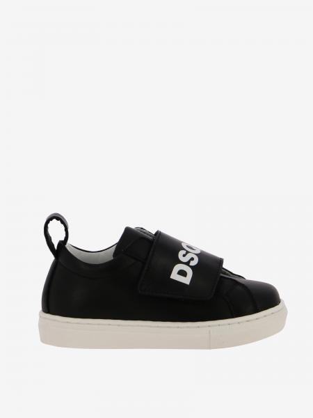 Sneakers Dsquared2 Junior in pelle con logo