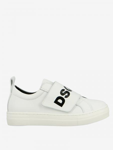 Sneakers Dsquared2 Junior in pelle con logo