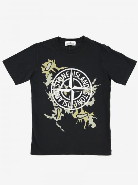 T-shirt kids Stone Island