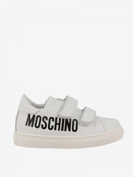 Sneakers Moschino Baby in pelle