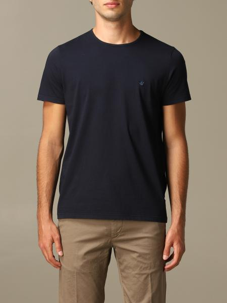T-shirt Brooksfield con logo in cotone