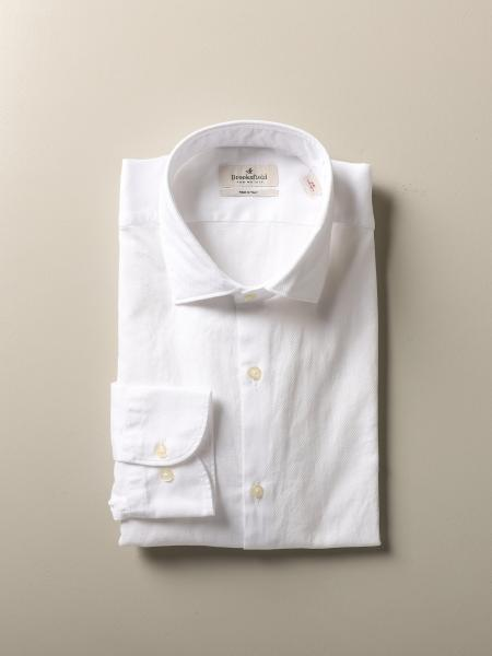 Brooksfield slim fit cotton shirt