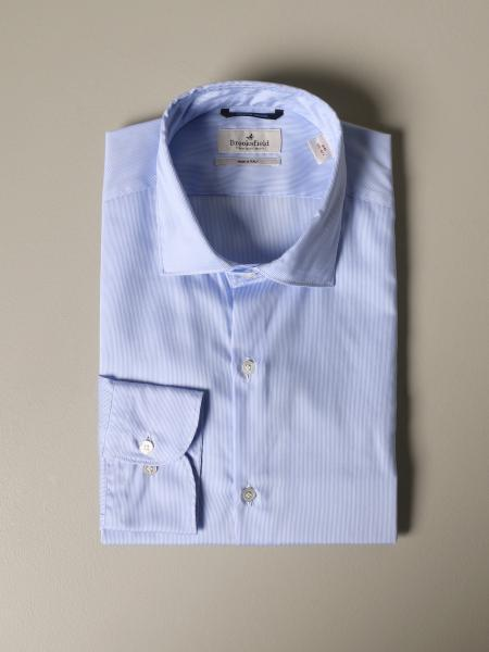 Camicia Brooksfield con collo francese