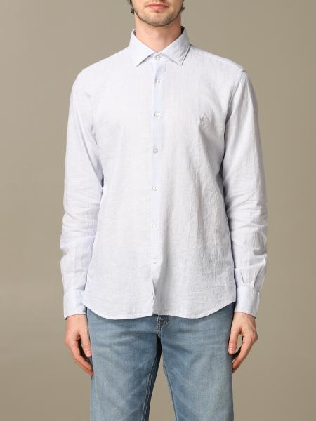 Camicia Brooksfield in misto lino