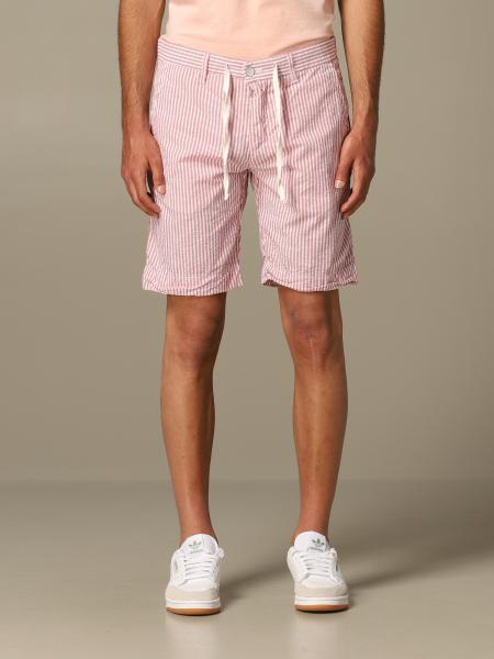 Bermuda chino Brooksfield a righe con coulisse