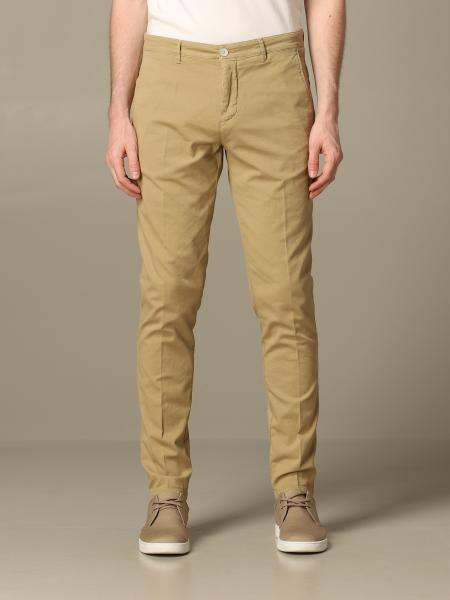 Pantalone Brooksfield chino in cotone stretch operato