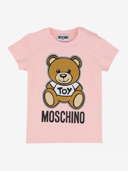Moschino Baby 印花短袖T恤