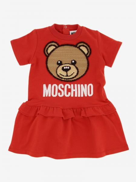 Moschino Baby dress with teddy