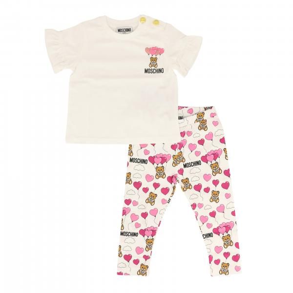 Ensemble T-shirt + legging Moschino Baby
