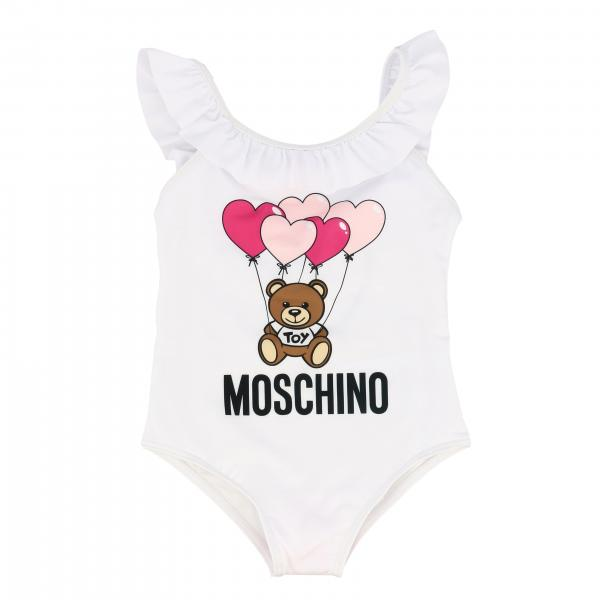 Costume Moschino Baby con stampa teddy