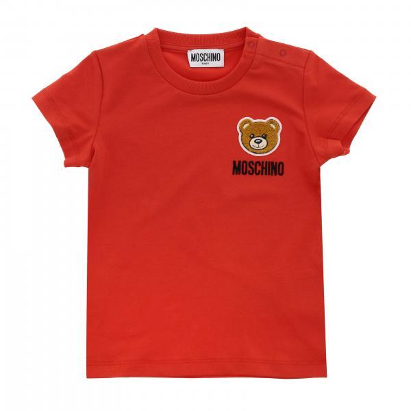 Mezza manica girocollo patch logo teddy