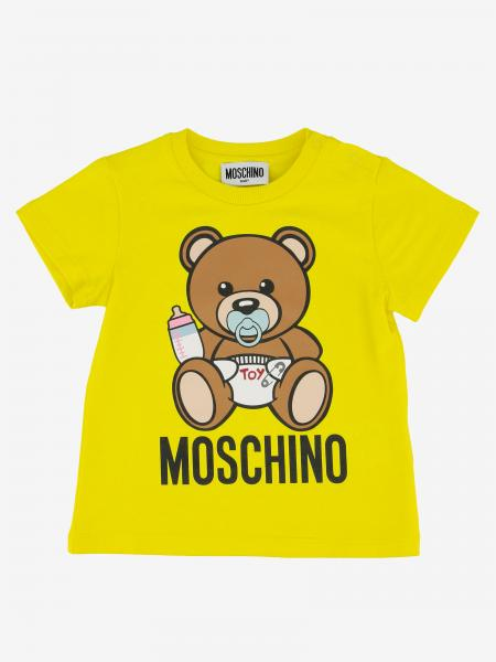 Moschino Baby short-sleeved T-shirt with print
