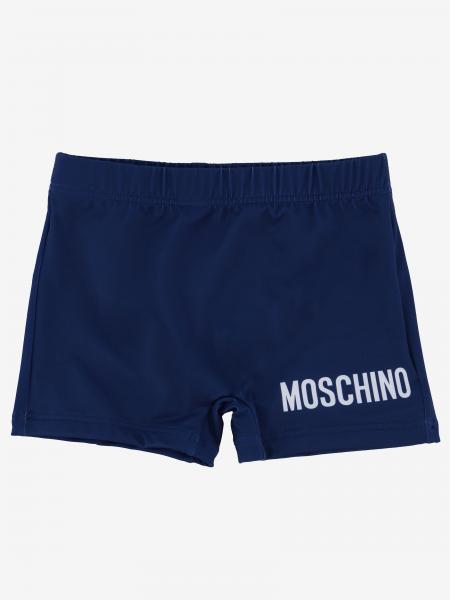 Costume Moschino Baby con logo e teddy