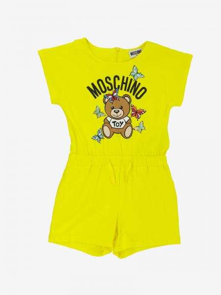 Moschino Kid suit with Teddy and butterflies print