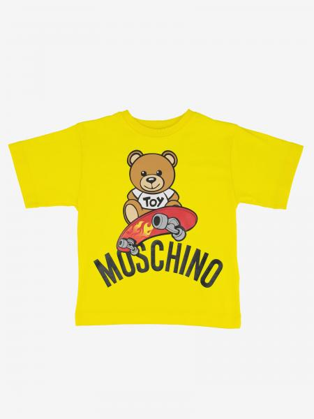 Moschino Kid 印花短袖T恤