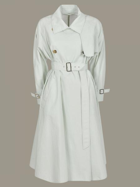 Double-breasted Falster Max Mara trench coat with belt