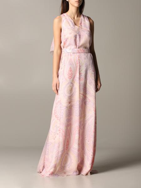 Max Mara Alceste Kleid aus bedrucktem Chiffon