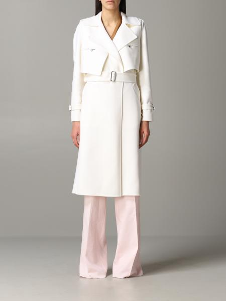 Max Mara Gianna dressing gown coat with removable vest
