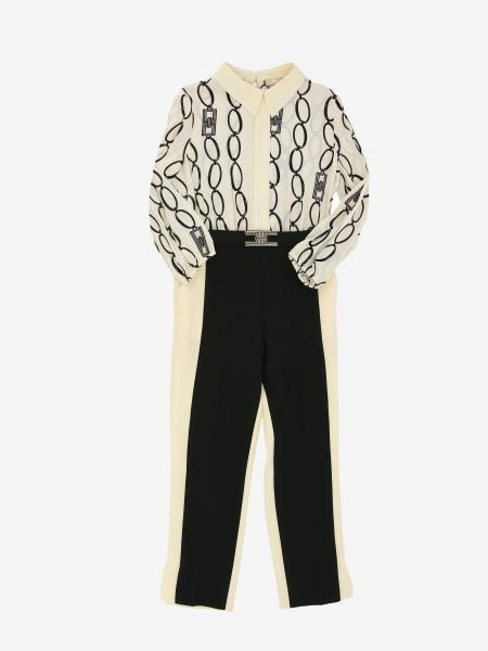Elisabetta Franchi tracksuit with chains print