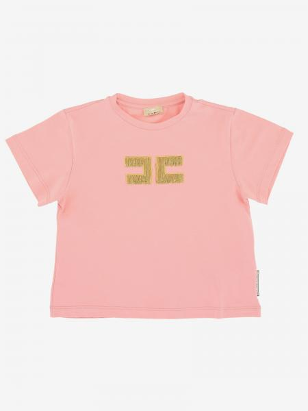 T-shirt Elisabetta Franchi con logo di catene