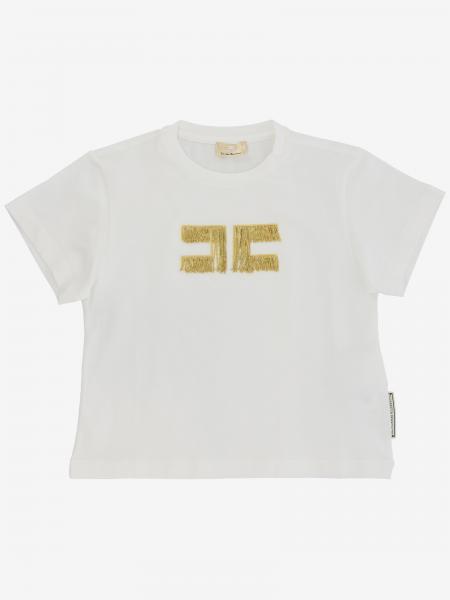 Elisabetta Franchi logo T恤