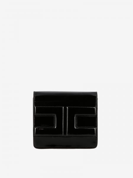Elisabetta Franchi shoulder bag in synthetic leather with sails