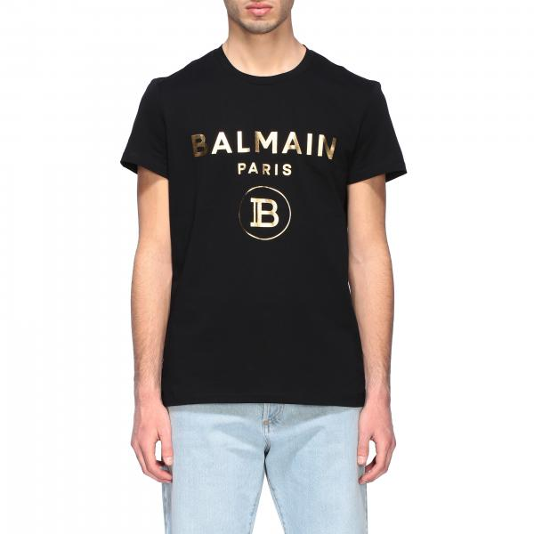 Balmain crew neck t-shirt with logo