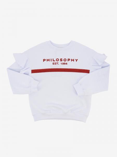 Felpa Philosophy di Lorenzo Serafini a girocollo con logo
