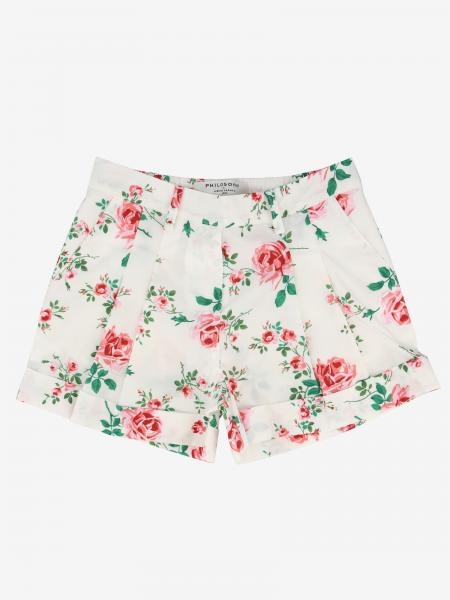Philosophy shorts by Lorenzo Serafini with floral pattern