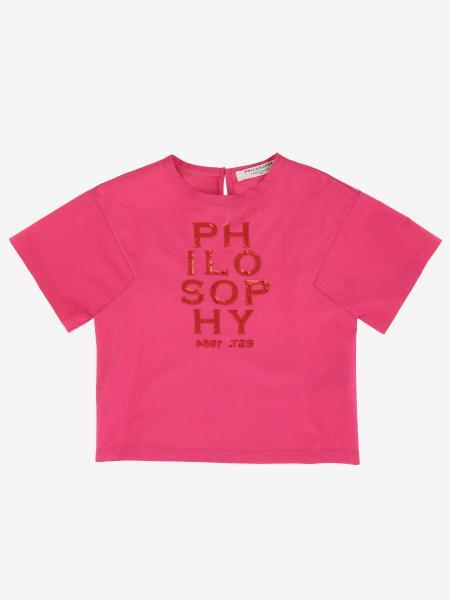 Philosophy von Lorenzo Serafini T-Shirt mit Logo