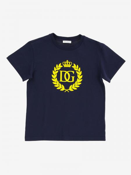 Dolce & Gabbana short-sleeved T-shirt with logo