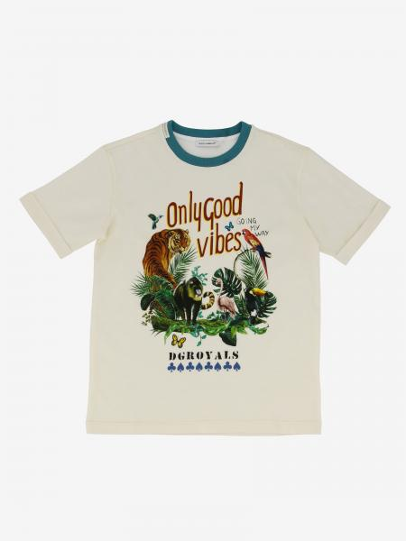 Dolce & Gabbana t-shirt with only good vibes print