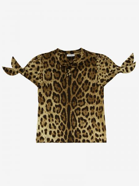 Dolce & Gabbana t-shirt with leopard print