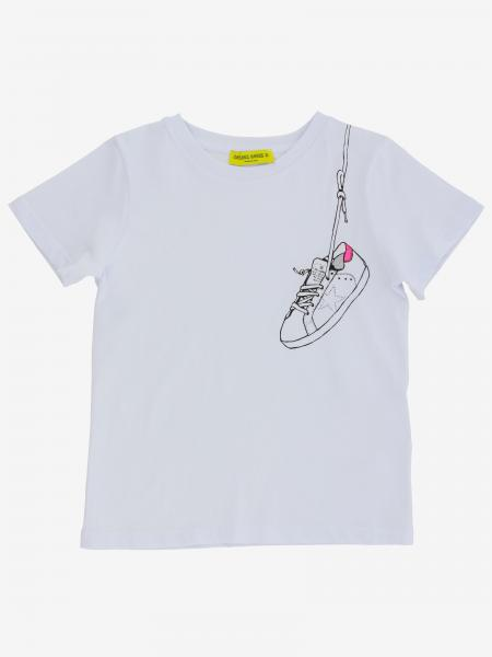 Golden Goose t-shirt with sneakers print