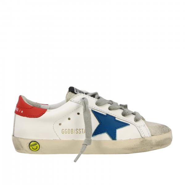 Superstar Golden Goose sneakers in leather and suede with star