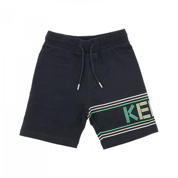 Kenzo Junior jogging shorts with logo