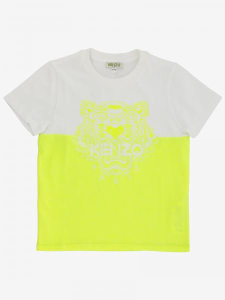 Kenzo Junior T-shirt with Tiger Kenzo Paris print