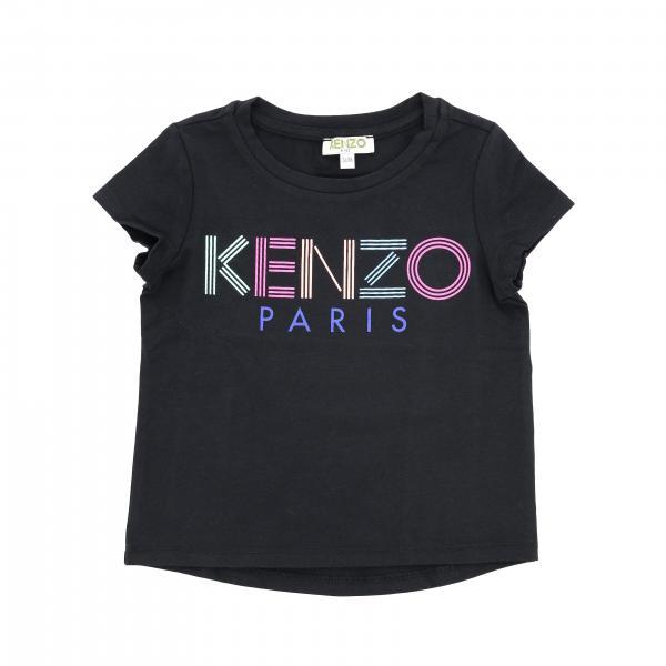 Kenzo Junior short-sleeved T-shirt with logo