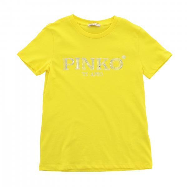 Pinko t-shirt with rhinestone logo