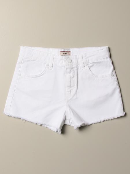 Shorts bull sfrangiato con cinta