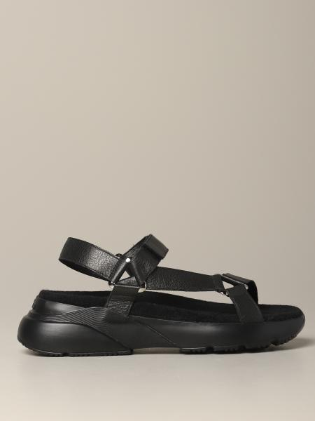 Hogan leather sandal with active one sole