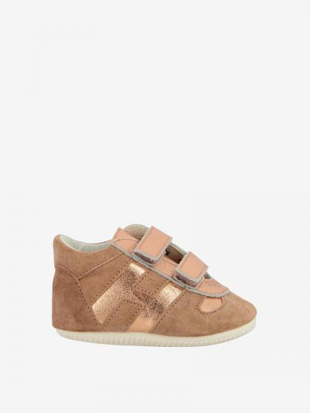 Olympia Hogan sneakers in suede with laminated h
