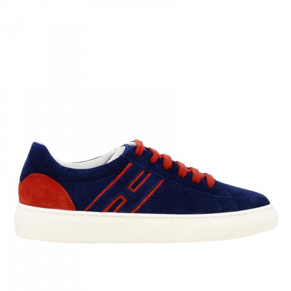 340 Hogan bicolor suede sneakers with big H