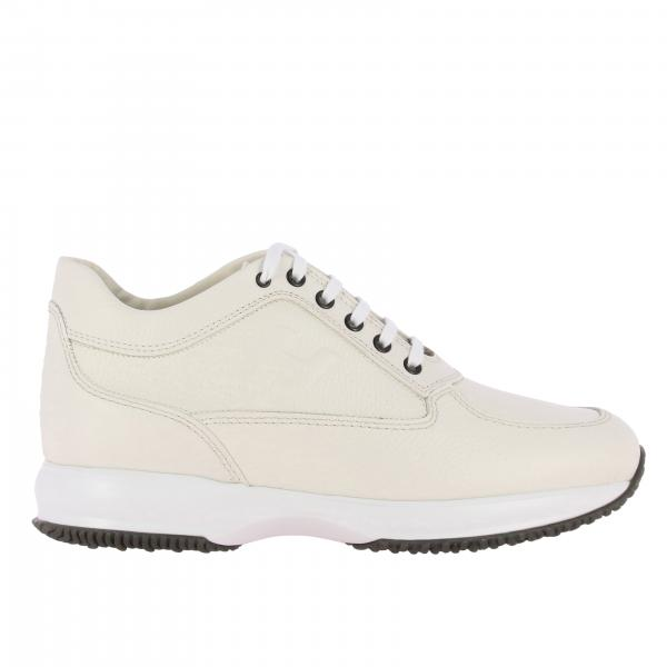 Sneakers Interactive Hogan in pelle con H impressa